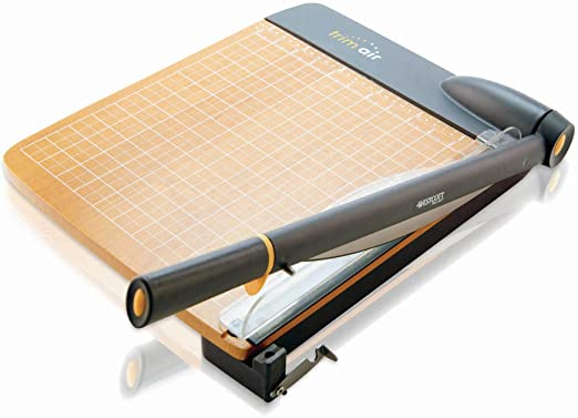 con base in legno Westcott 15106 Taglierina a leva TrimAir 30 cm per fino a 30 strati di carta da 80g