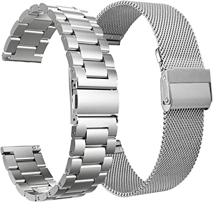 Metal Milanese Loop Strap For Fitbit Versa 2 Lite Stainless Steel Wrist Band US