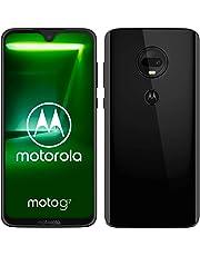 motorola moto g7 6.24-Inch Android 9.0 Pie UK Sim-Free Smartphone with 4GB RAM and 64GB Storage (Dual Sim) – Black (Exclusive to Amazon)