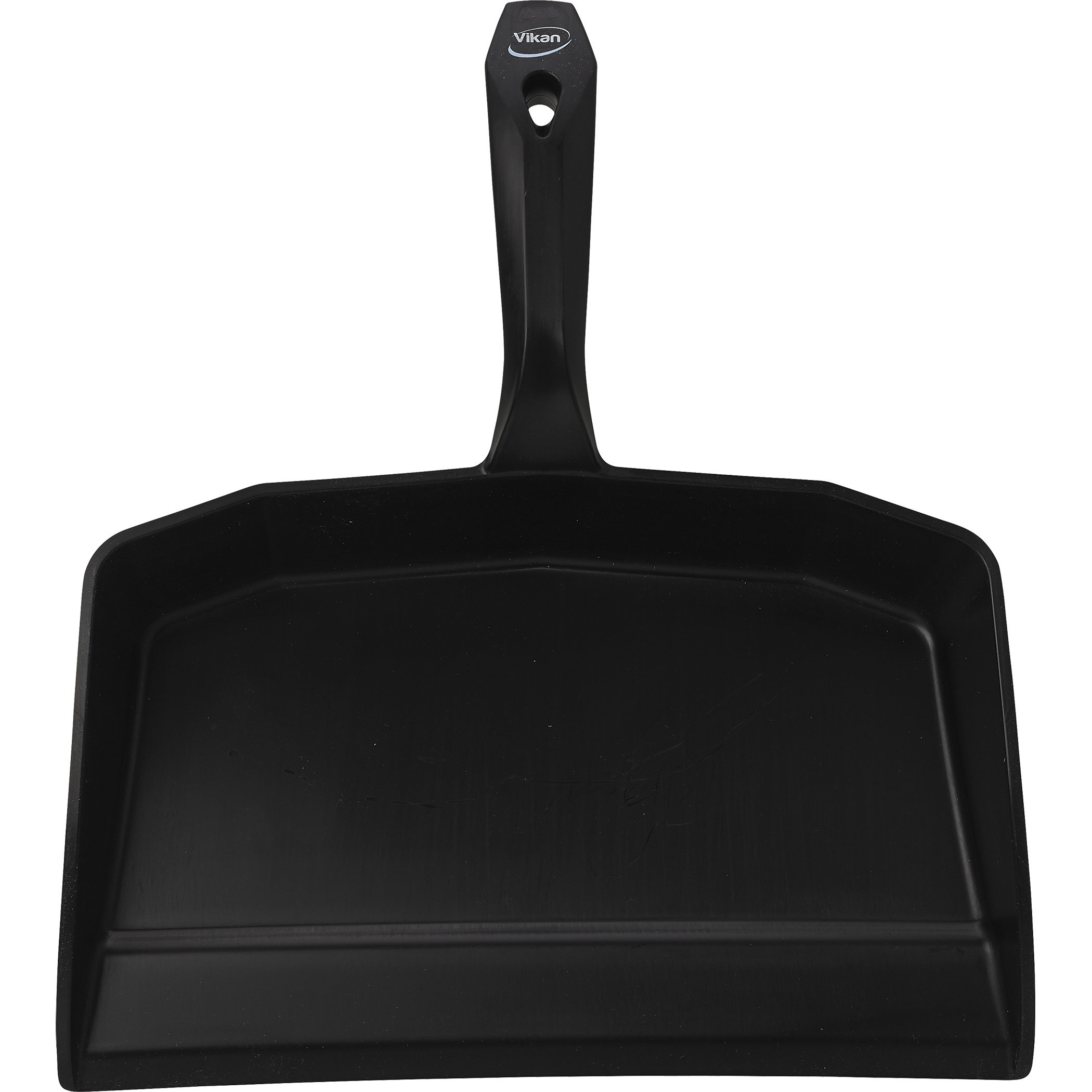 Vikan 56609 Dust Pan, Polypropylene, 13-25/64'', Black