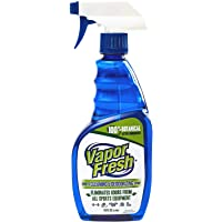 Vapor Fresh Natural Cleaning and Deodorizing Spray - Great For Sports Pads, Boxing Gloves, Gym Equipment, Yoga Mats…