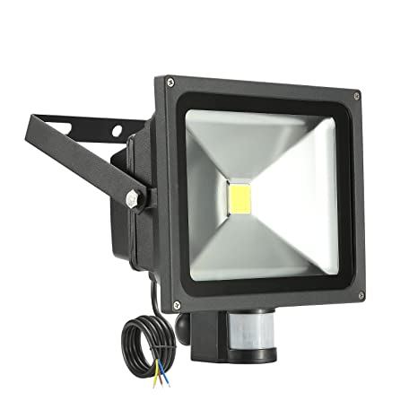 LED 30W Flood Light 6000K IP65,Flood Light,Foco LED con Sensor Movimiento,