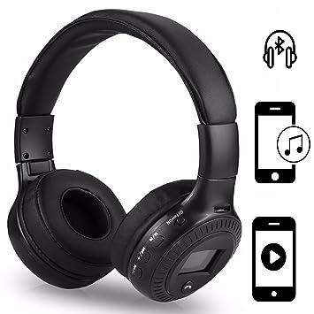 Teléfono inalámbrico Auriculares | para Huawei P20 Pro | 3.5 mm AUX de Salida, Incorporado HD Micrófono | inalámbrico Stereo Headset | Auriculares Negro ...