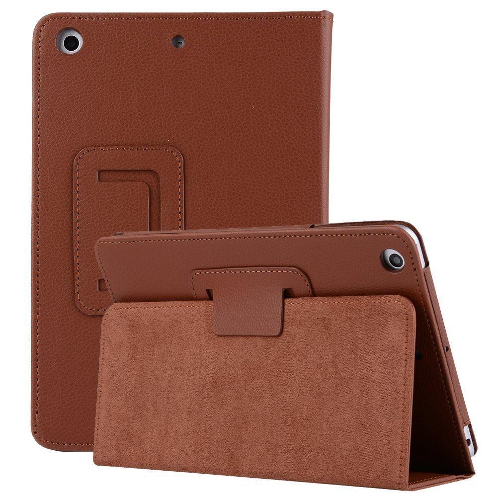 Vacio iPad Mini2 Flip Case 7.9 Premium Folio Case Book Design Cover Multi-Angle Viewing Lightweight Ultra Slim Stand Smart Protective Case for iPad Mini1/Mini2/Mini3-Black