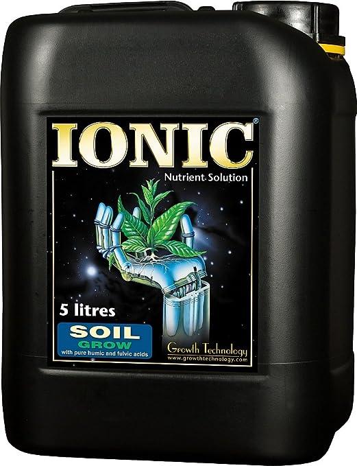 Growth Technology Ionic Soil Grow 5L, 5 litros: Amazon.es: Jardín