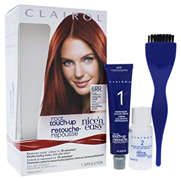 Amazon.com   Clairol Nice N Easy Root Touch-up Permanent Color - 006rr  Intense Red By Clairol for Women - 1 Application Hair Color   Beauty cd6d1d87e6