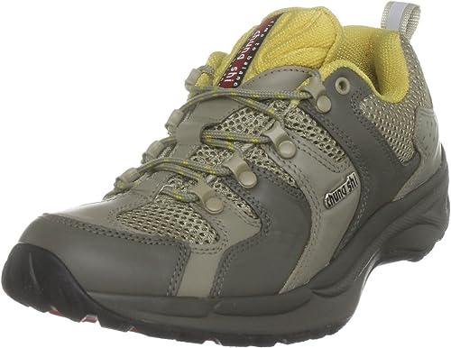 chung shi Mens Balance Step Holiday Trekking /& Hiking Shoes Grey Khaki//Grey