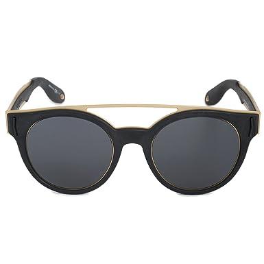 837747a79c4c4 Sunglasses Givenchy Gv 7017 N S 02M2 Black Gold IR gray blue lens at ...