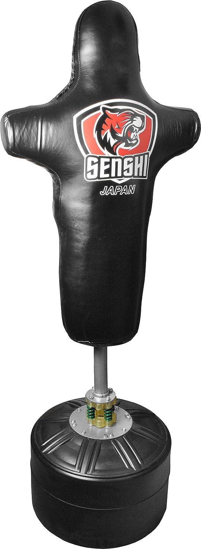 /La mejor saco /perfecto para formaci/ón y pr/áctica/ Senshi Jap/ón 6/m libre de pie torso saco de boxeo de cuero Rex/ /muy f/ácil de montar/ /de cuero Rex acero/