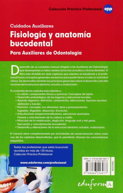 FISIOLOGÍA Y ANATOMÍA BUCODENTAL PARA AUXILIARES DE ODONTOLOGÍA ...
