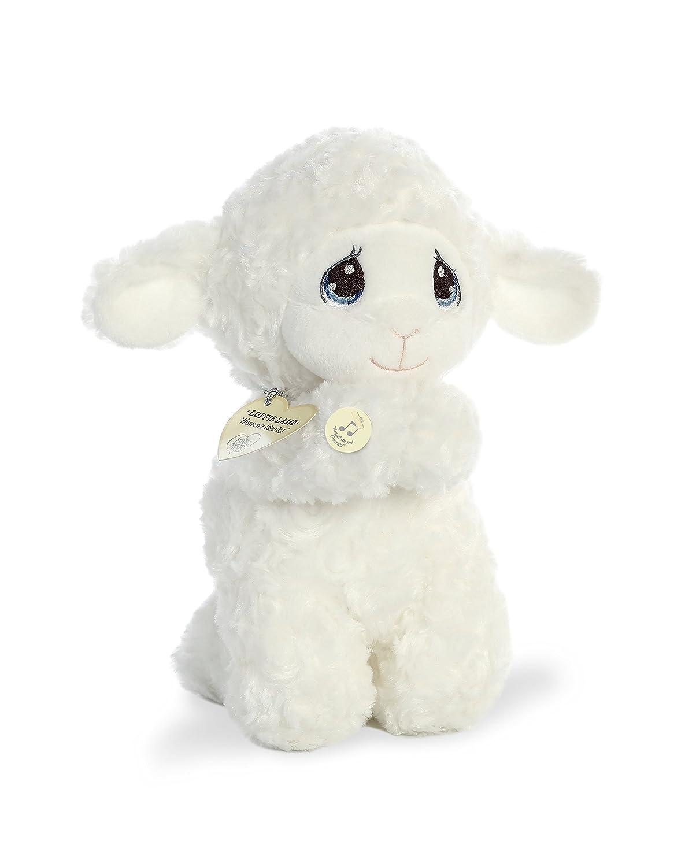 Luffie Prayer Lamb 10 Spanish Plush Toy Animal Aurora World Precious Moments Musical