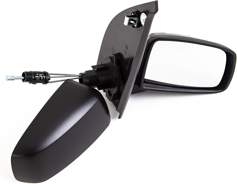 Trade Vehicle Parts FT4029 Door Wing Mirror Manual Black Driver ...