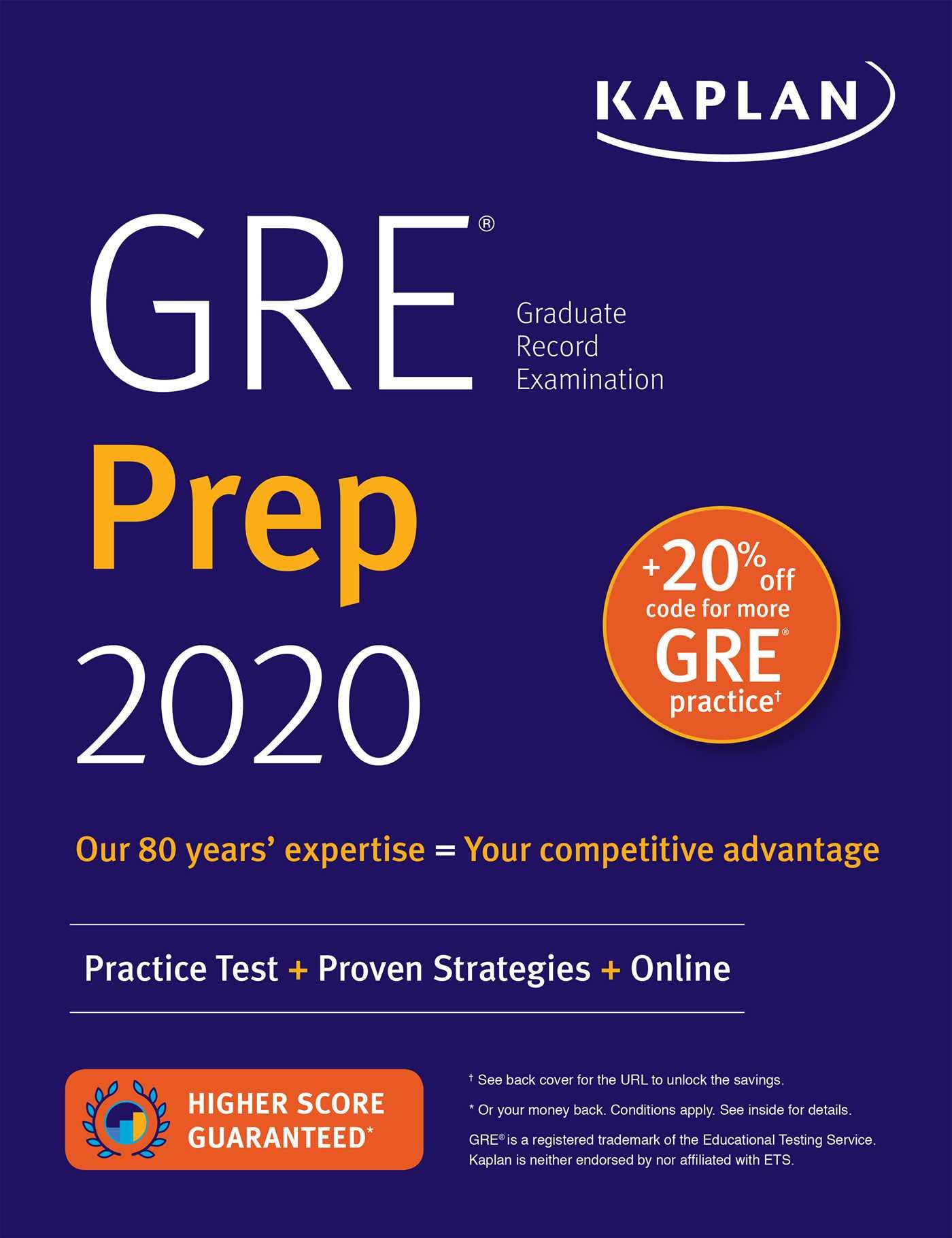 Best Gre Prep Book 2020.Gre Prep 2020 Practice Tests Proven Strategies Online