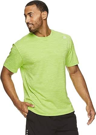Reebok Men's Supersonic Crewneck Workout T-Shirt Designed Performance Material