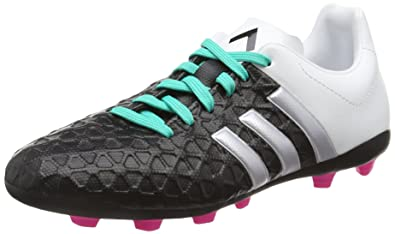 816b081fc9da adidas Ace 15.4 FG, Boys' Football Boots, Multicolor (Core Black/Matte