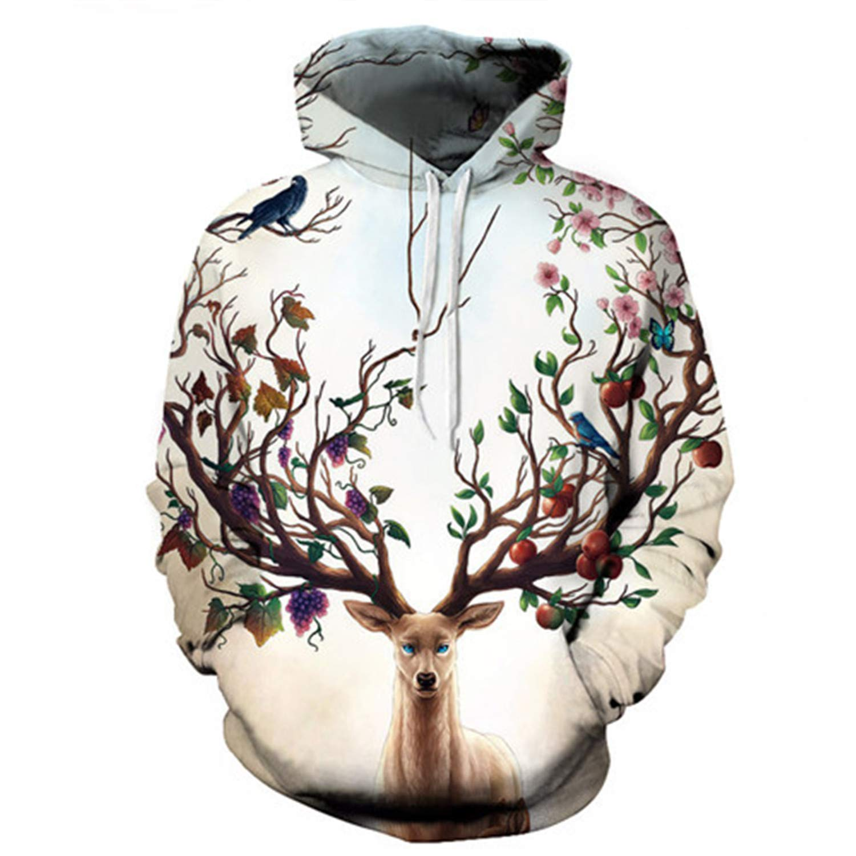 Seasons Change by JoJosArt,Hoodies,3D Sweatshirts Men Women Tracksuits Unisex Drop Ship Hoodie Casual Pullover Brand
