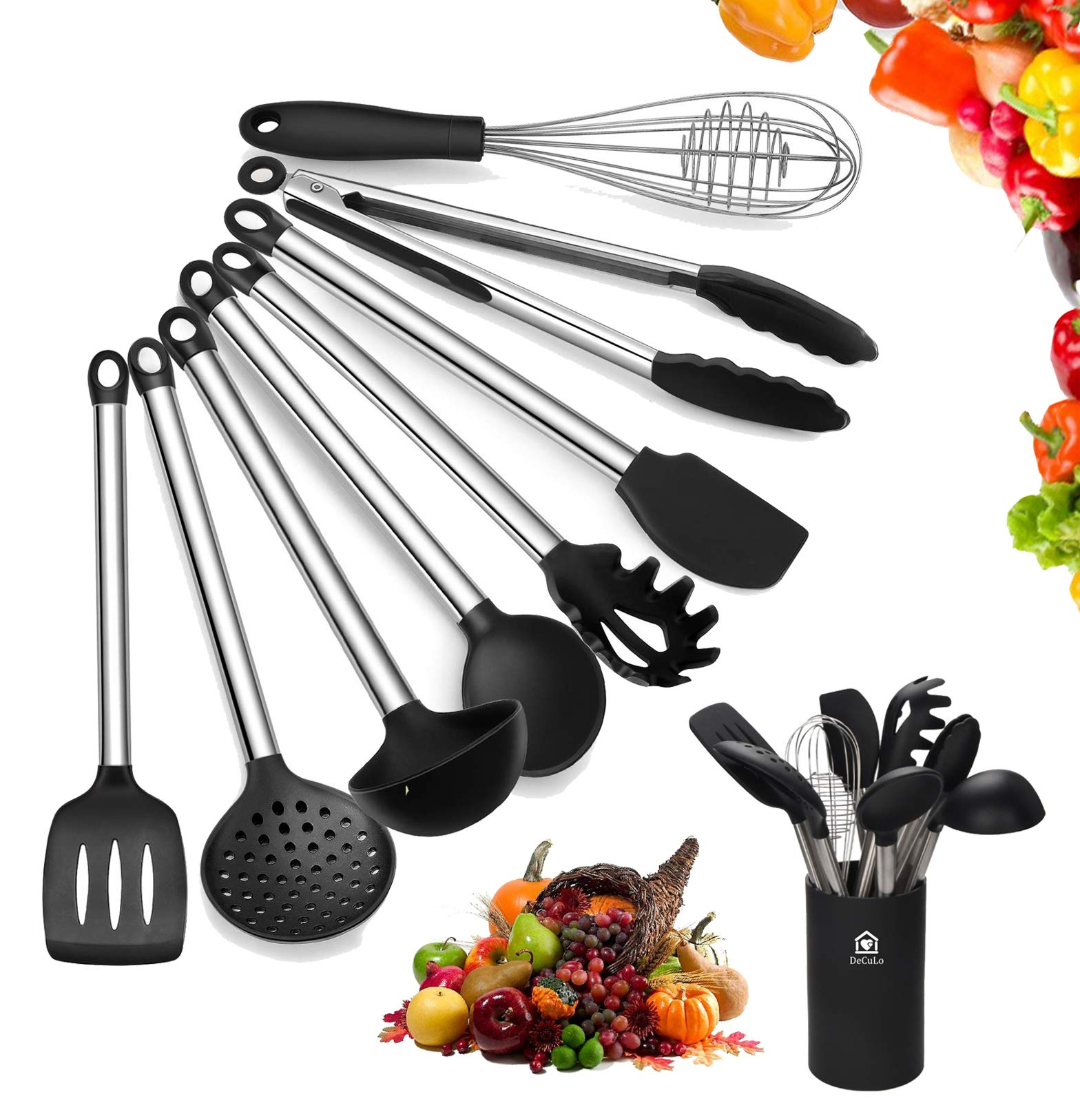 Rate Kitchen Set: Best Rated In Cooking Utensil Sets & Helpful Customer