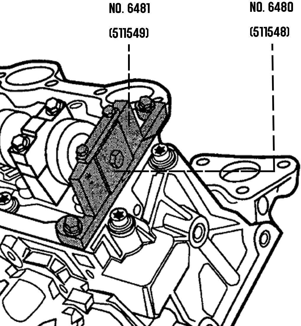 Tool Sets LE-JX 6488 Ford SOHC 4.0L V6 Cam Service Timing 7 Tools ...