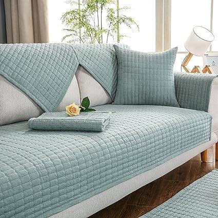 Anti-slip Sectional sofa slipcovers u shape Sofa throw slipcover All season Sofa  furniture protector