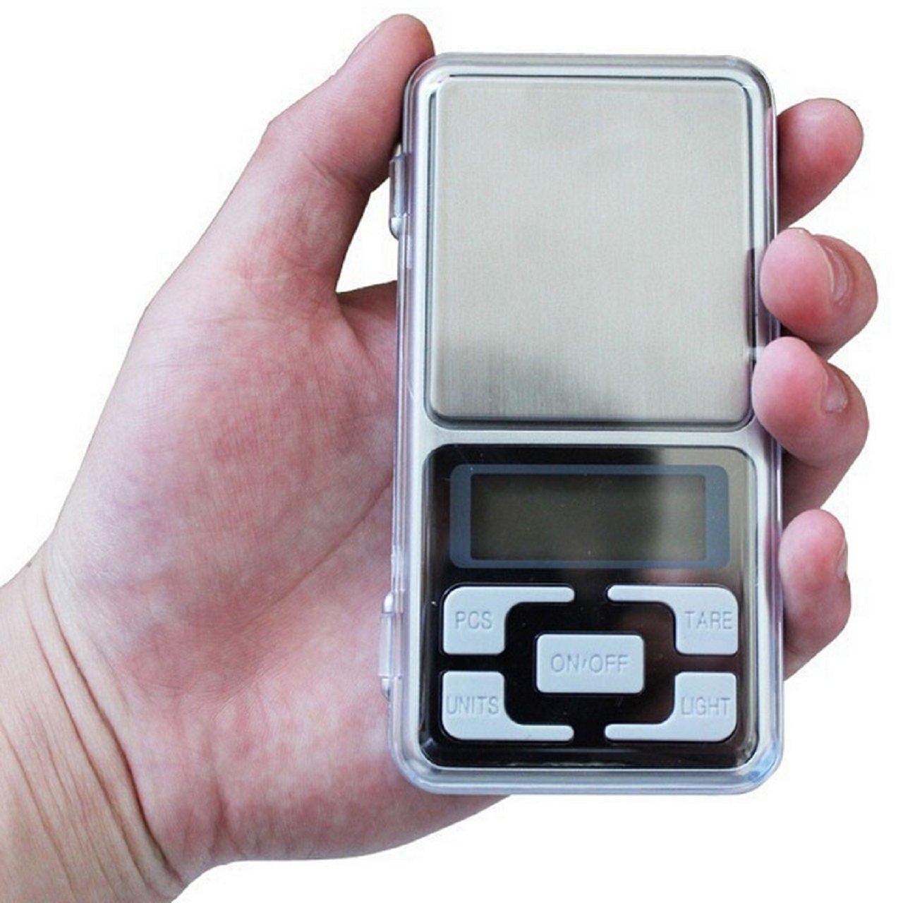 Jewelry Digital Scale, Rcool 200g x 0.01g Gold Herb Balance Weight Gram LCD