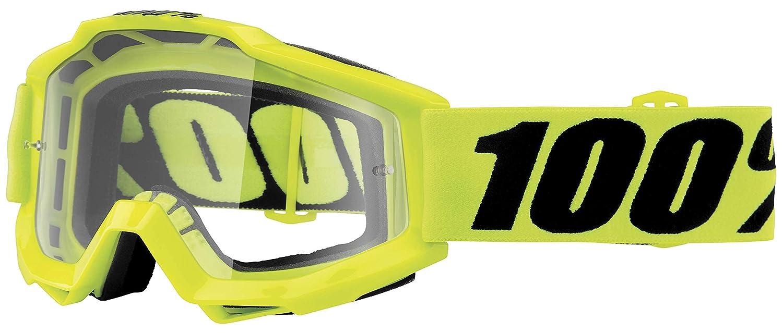 100% Accuri Tornado OTG 2016 Snow Goggles Black/Clear Lens 50204-059-02