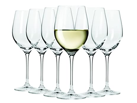 Maxwell Williams Vino Signature Series Set of 6, 12.5 floz White Wine Glasses