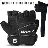 Gym Fitness Gewichtheben Handschuhe Training langer Gurt Handschuhe