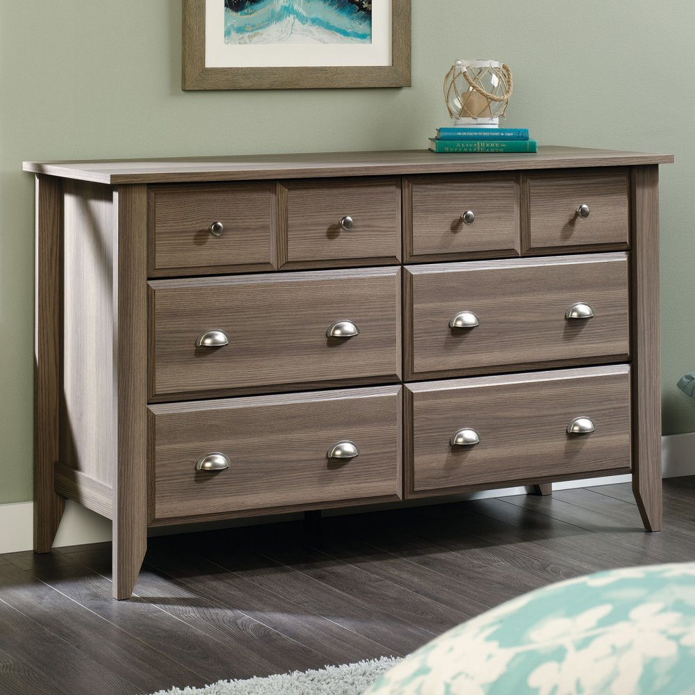 Sauder 418661, Furniture Dresser, 6-Drawer