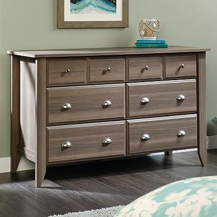 amazon com sauder 418661 dressers furniture 6 drawer kitchen