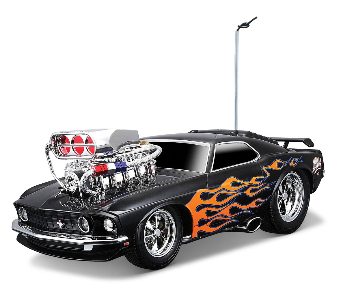 Maisto Muscle Machines 1969 Ford Mustang Boss 302 Remote Control ...