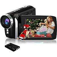 HG8250 digitale videocamcorder FHD 1080P 24MP 270 graden draaibare flip-screen videocamera voor kinderen/tieners…