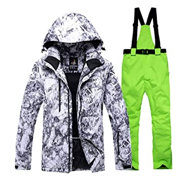 Zjsjacket Chaqueta de esqui -30 Hombres Snow Custome ...