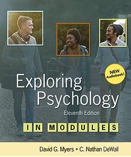 Amazon Com Exploring Psychology 9781464154072 David G Myers C