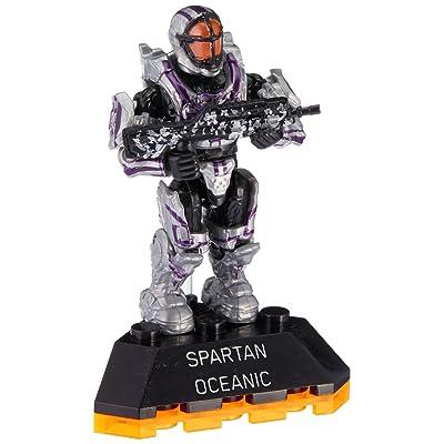 Mega Bloks Halo Heroes Series 2 Spartan Oceanic Figure # 5