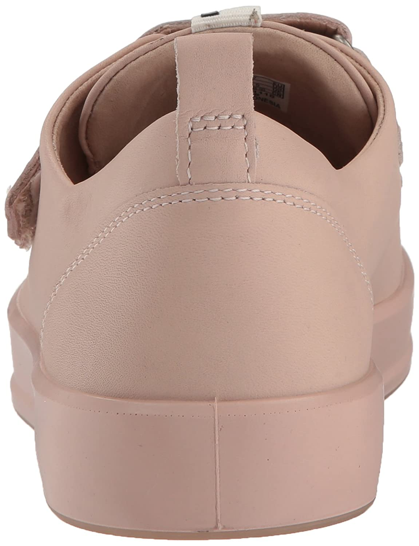 ECCO Women's Soft 8 Strap Sneaker B074CVCLGC 39 Medium EU (8-8.5 US)|Rose Dust