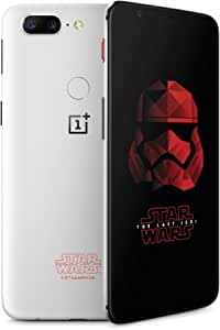 OnePlus 5T (Star Wars Limited Edition) A5010 128GB Dual-SIM Factory Unlocked 4G/LTE Smartphone - Sandstone White