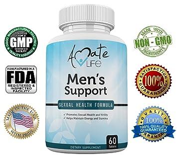Amazon Com Men S Support Sexual Health Formula Sexual Enhancement