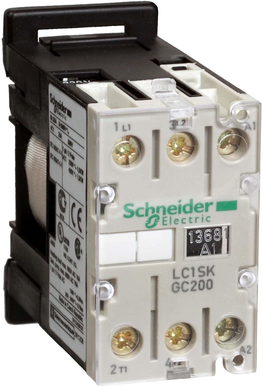 Schneider Electric lc1skgc200b7contactor 24V 50/60Hz, contactor-2no 5un AC3hasta 20A AC1
