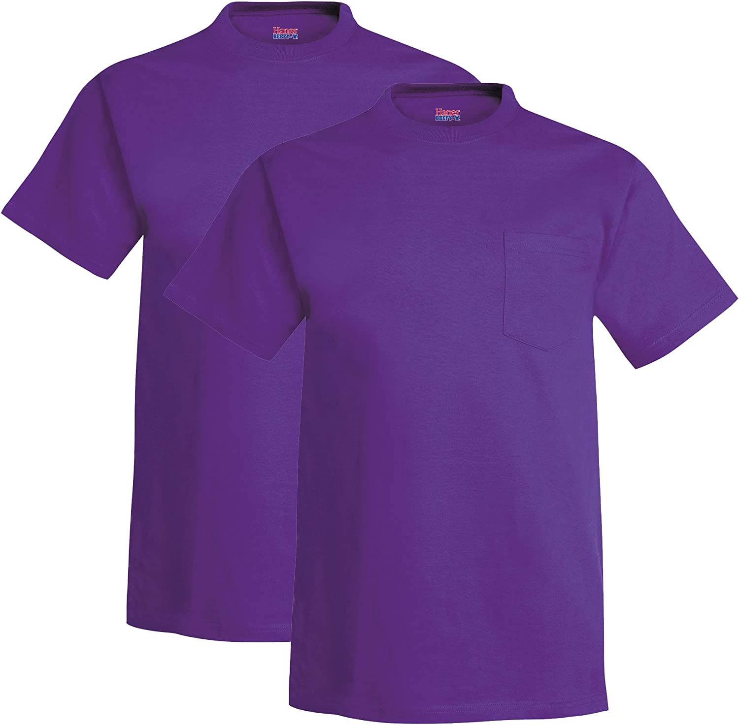 Hanes Mens 6.1 Oz. Beefy-T with Pocket (5190P)