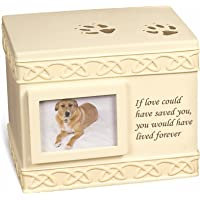 MMP Living Pet Urn Memorial If Love Could Have Saved You. - Bottom Opening