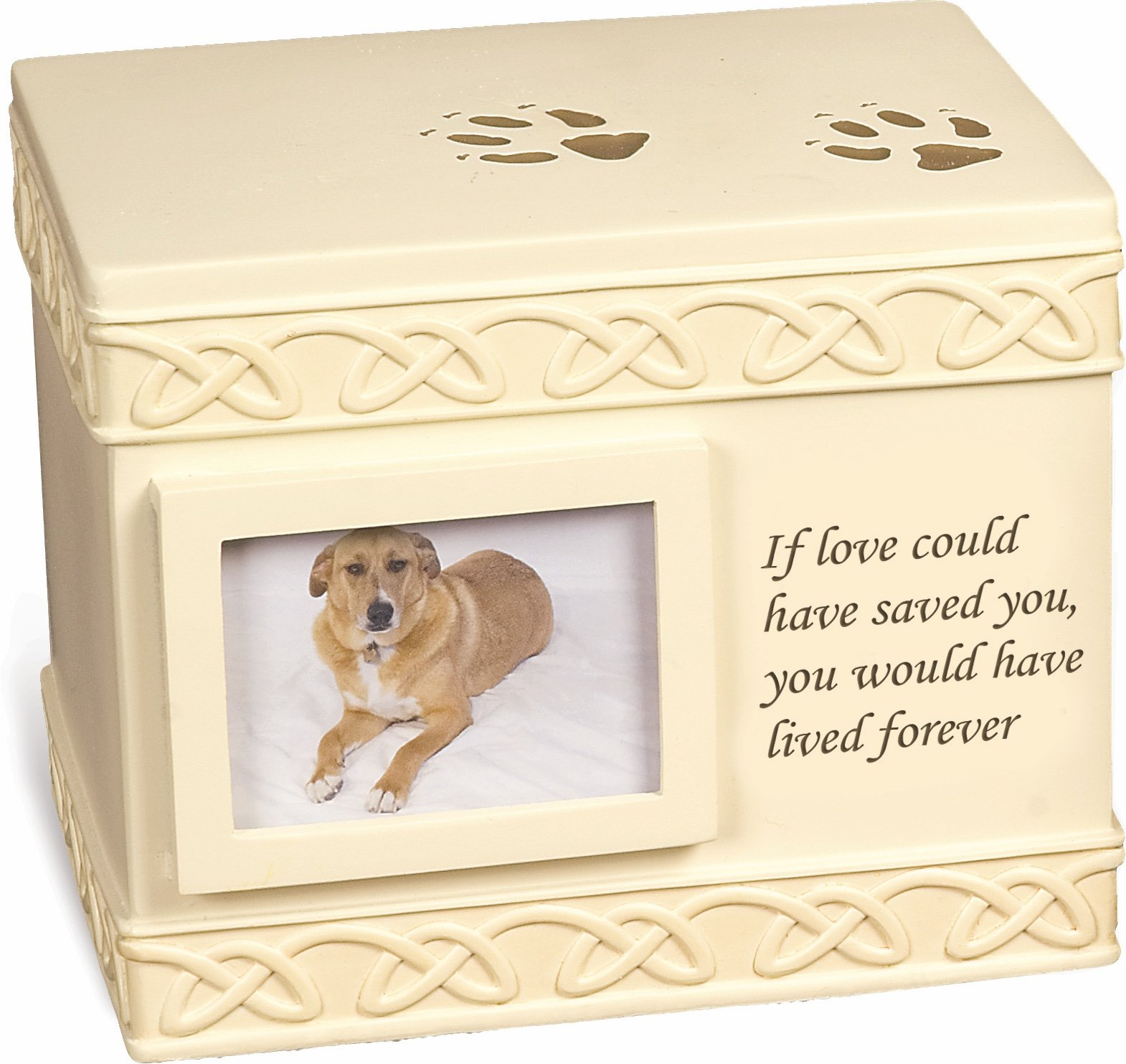 MMP Living Pet Urn Memorial If Love Could Have Saved You. - Bottom Opening by MMP Living
