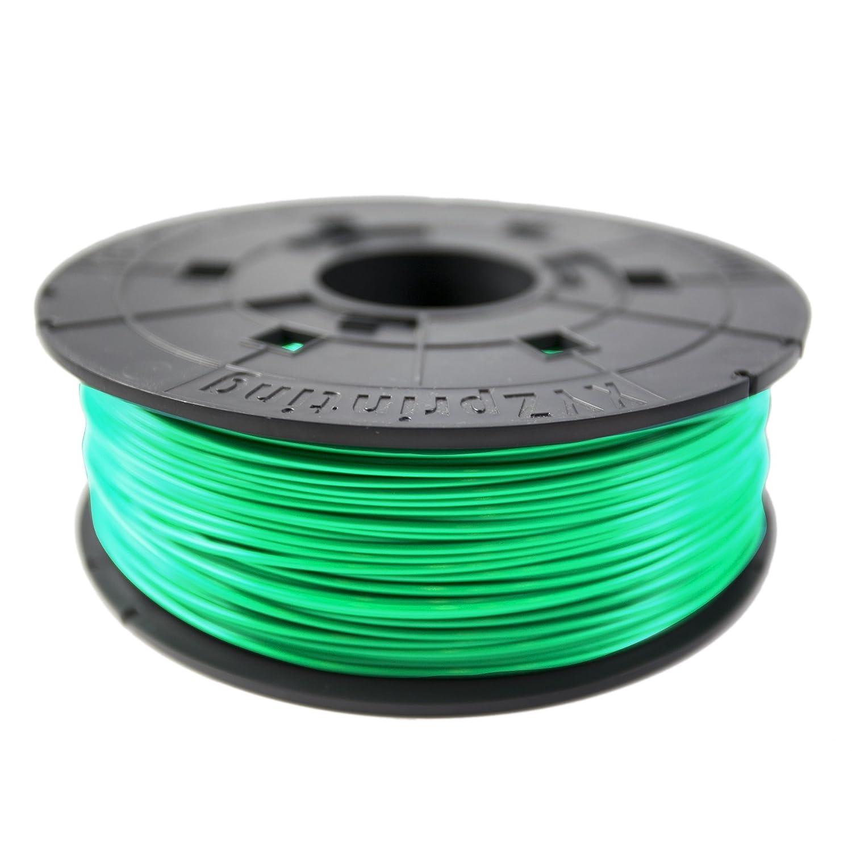 XYZprinting RF10BXEU06D Filamento Recambio ABS, 600 gr, 12 Piezas, Botella Verde