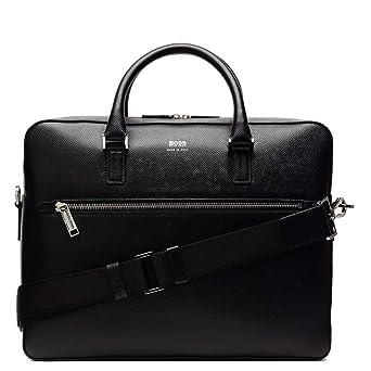 243b9605db1c8 Hugo Boss Signature Black Laptop-Tasche 50397227-001  Amazon.de  Uhren