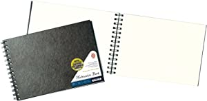 Pentalic 20802 Watercolor Field Book, 7-Inch by 10-Inch