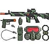 M16 Commando SWAT Force Friction Toy Gun Pretend Play Set