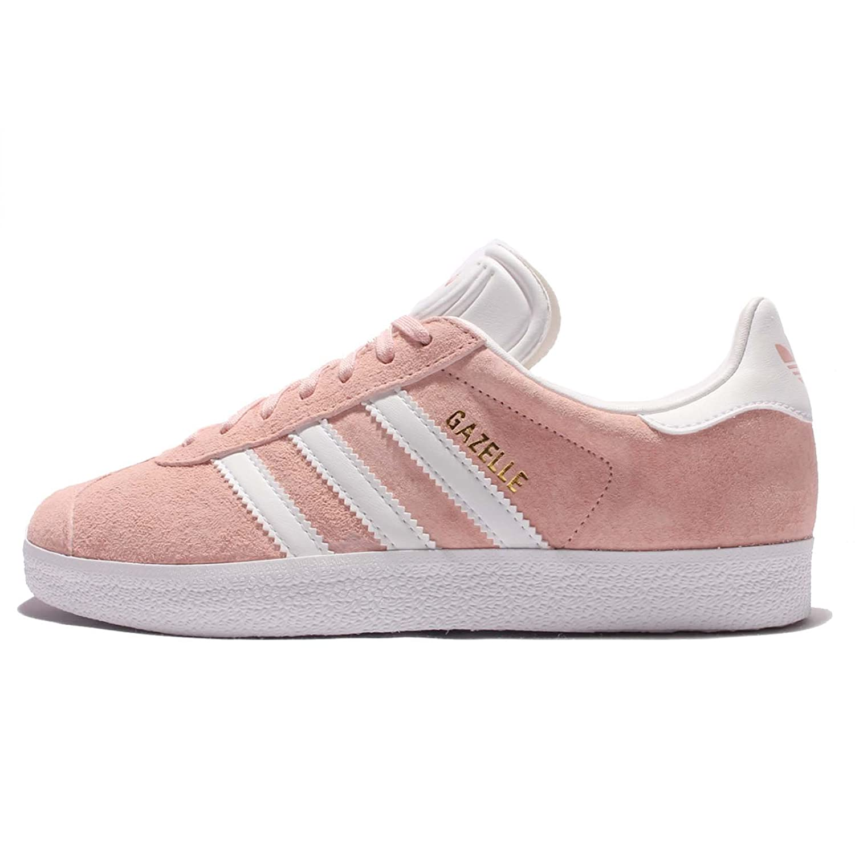 adidas Women\u0027s Gazelle W, VAPOUR PINK/FOOTWEAR WHITE/GOLD METALLIC