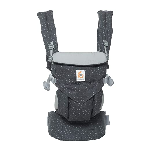 Ergobaby Omni 360 All-in-One Ergonomic Baby Carrier, All Carry Positions, Newborn to Toddler (Starry Sky)