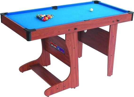 Riley Mesa de Billar PT20-46D Plegable (Pequeño Formato, Accesorios incluidos, Material Robusto): Amazon.es: Deportes y aire libre