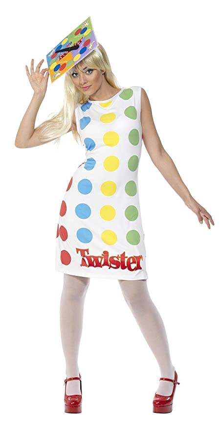Hippie Costumes, Hippie Outfits Twister Ladies Costume $24.11 AT vintagedancer.com