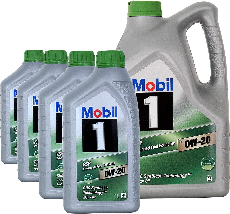Mobil 1 Aceite para Motor ESP x2 0W-20 Advanced Fuel Economy, 5 ...